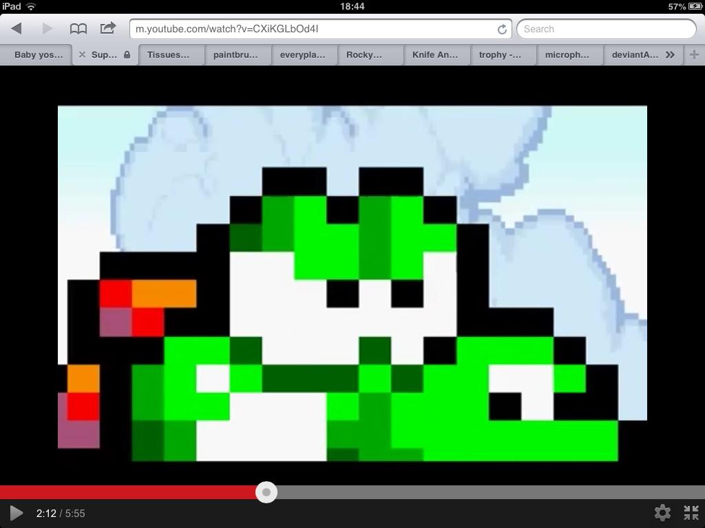 Yoshi Angry Angry Yoshi is watching you by
