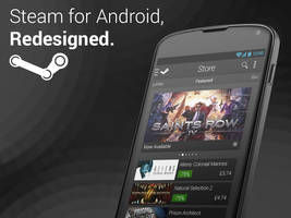 Steam Android Redesign