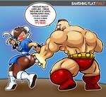 CHUN LI VS ZANGIEF FAIL