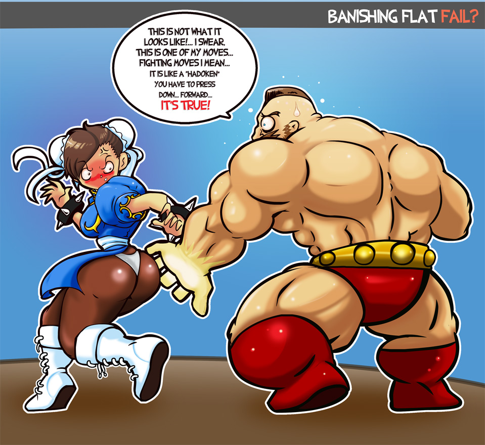 CHUN LI VS ZANGIEF FAIL by TokiroKAWA