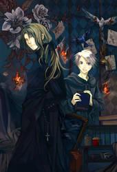 murder in the Peony castle by Hatori-K