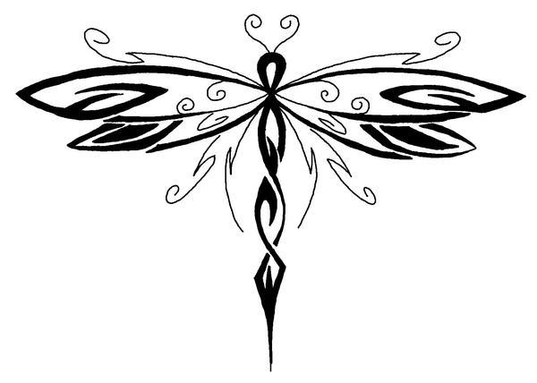 Dragonfly tattoo by designerdragon on DeviantArt