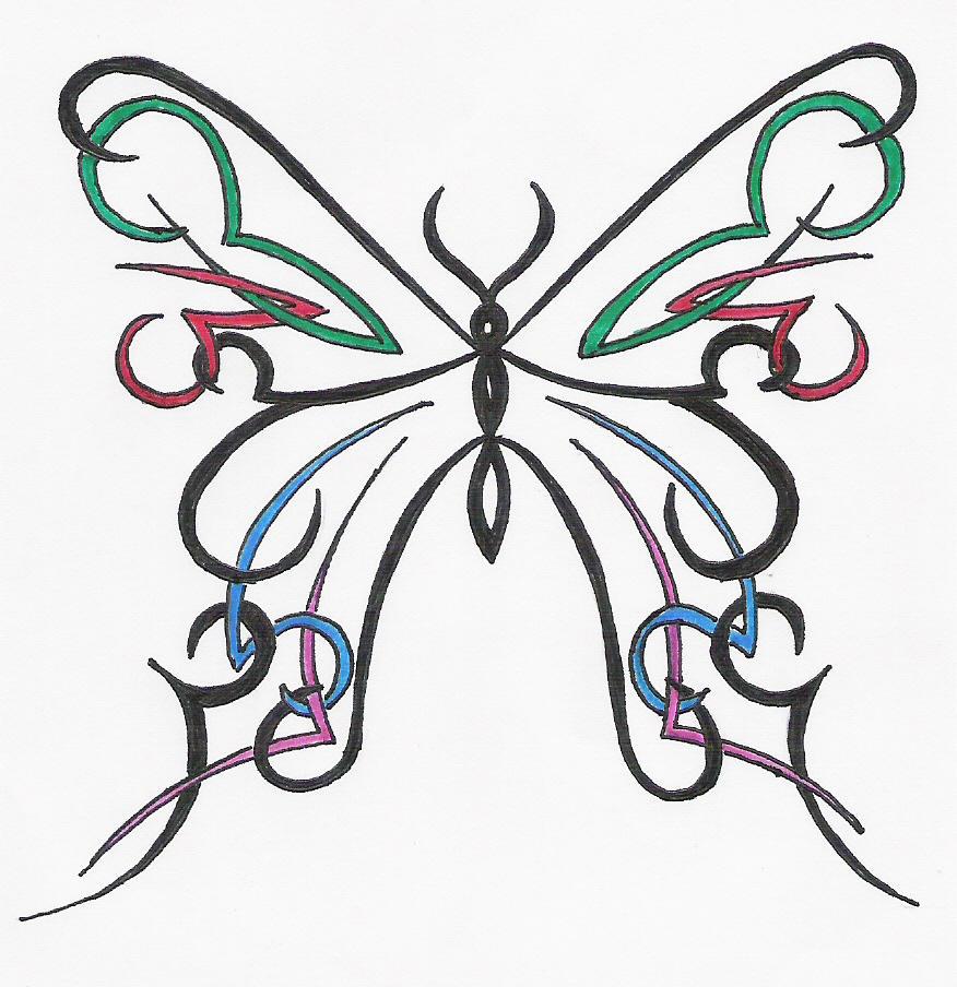 colour butterfly by designerdragon on deviantart