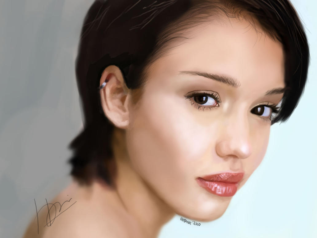 Jessica Alba by himank
