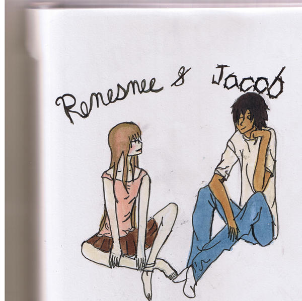 SPOILERS Renesmee and Jacob by Hanna-future-cullen on ...