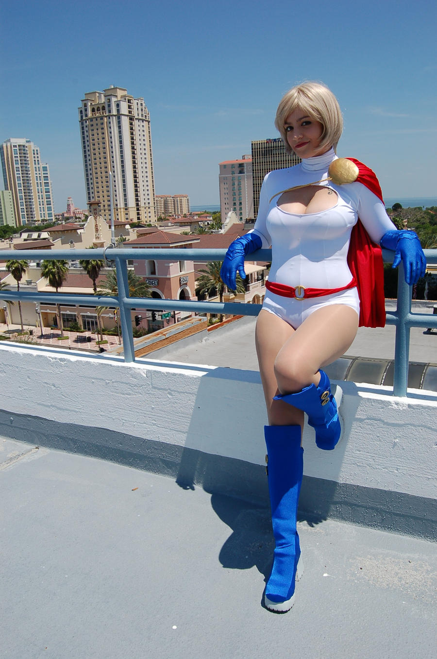 Power Girl: A Moment's Rest by KingdomOfSeven