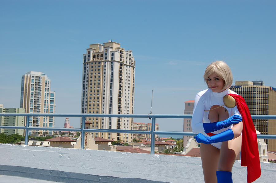 Power Girl: Rooftop Hero by KingdomOfSeven