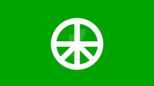 Peace On Earth Flag (3)