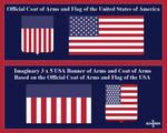 USA Banner Of Arms