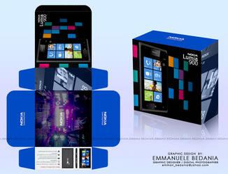 Nokia Lumia 900 Packaging Draft by emman03