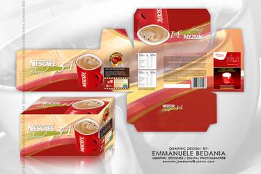 Nescafe 3in1 Decaf Packaging by emman03