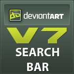 DeviantArt v7 Search Bar by 13Firehunter13