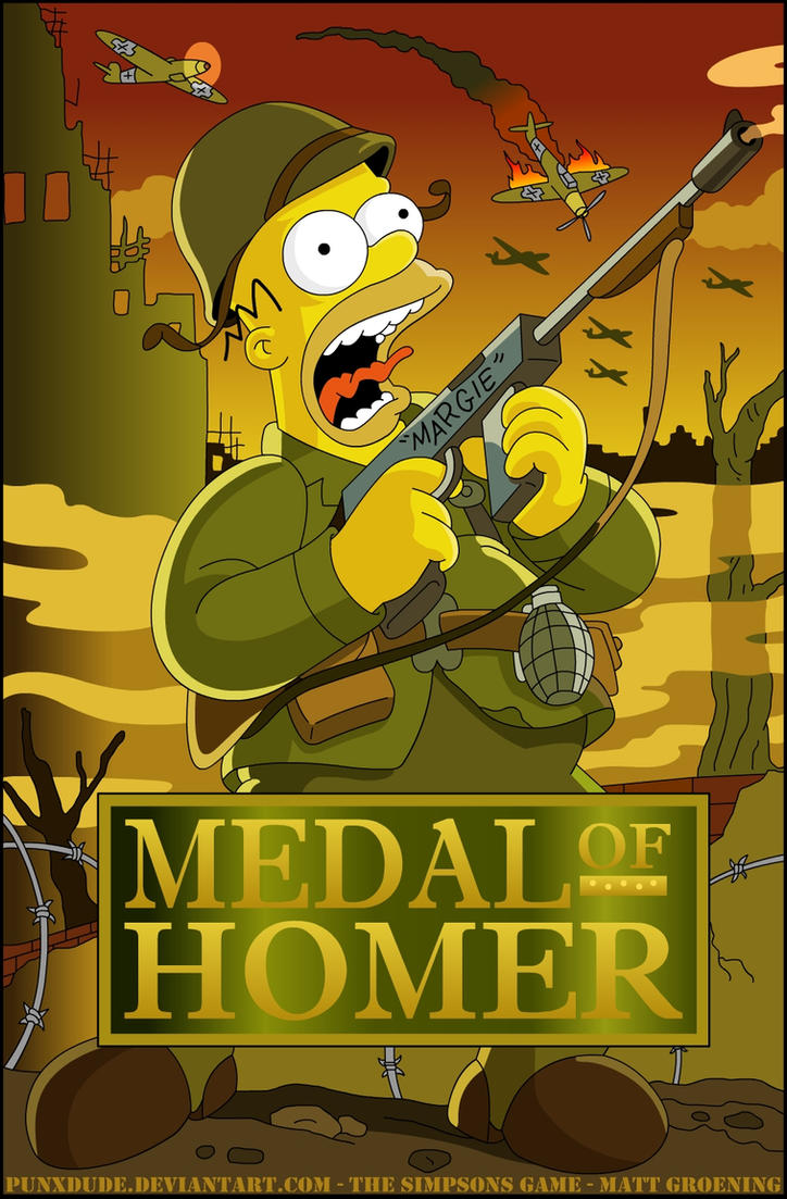 Medals of Homer by punxdude