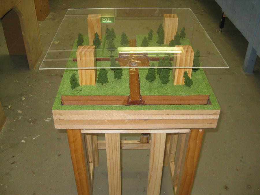 Coffee Table Water Feature 2 By SomthingWithWolves On