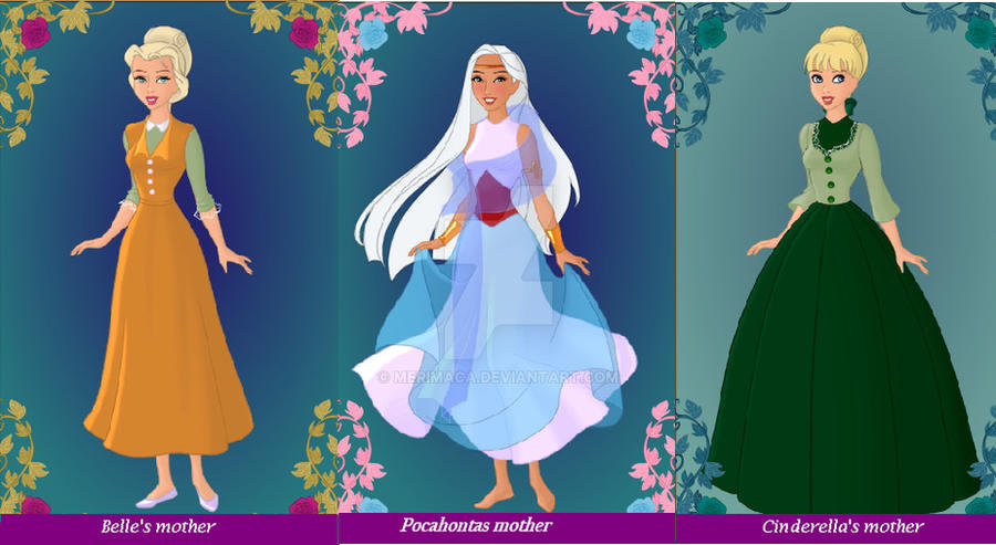 Disney Princess Mother S 2 By Merimaca On Deviantart