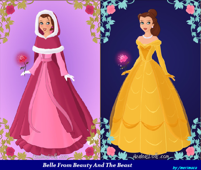Belle Beauty And The Beast By Merimaca
