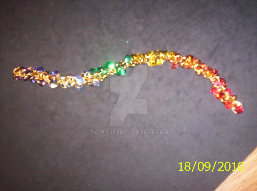 Rainbow Bracelet by Amitisti