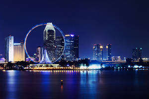 singapore flyer by yyelsel