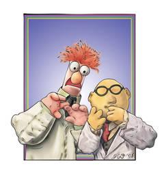 Beaker and Bunsen