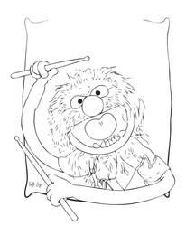 Animal line art