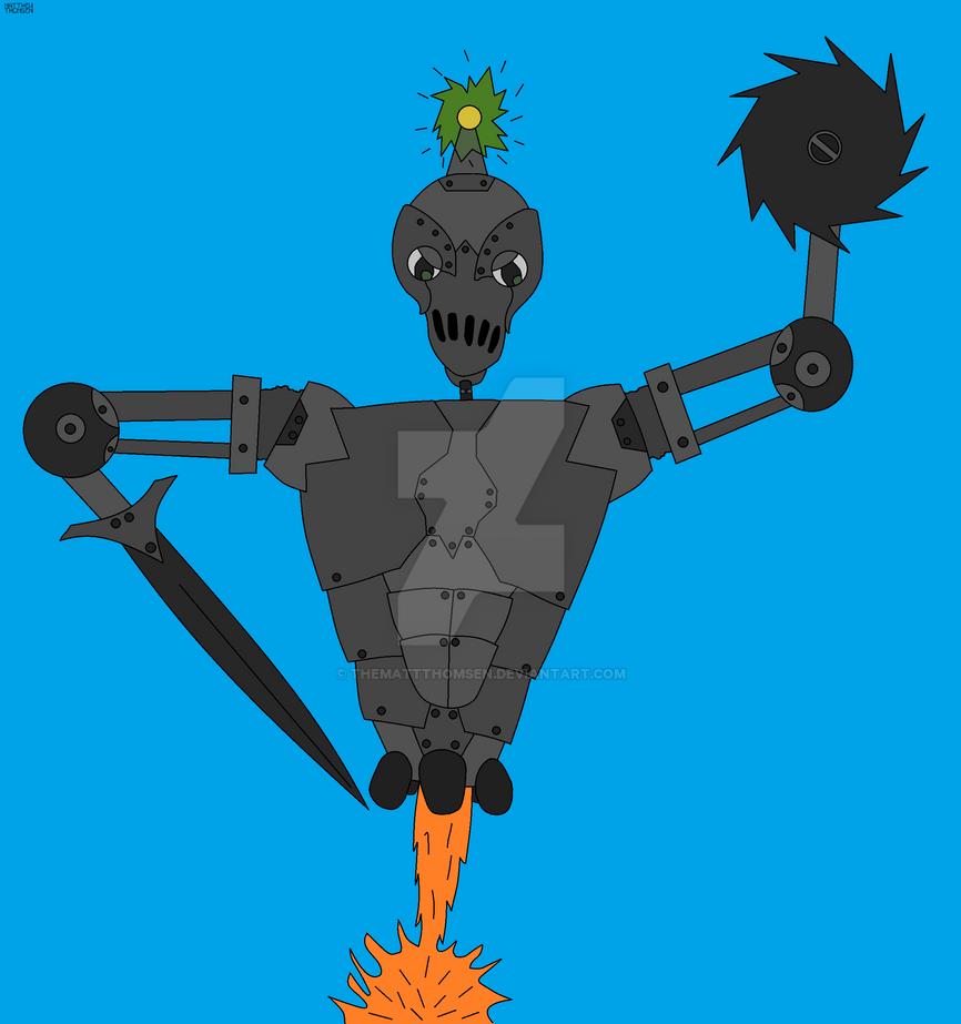 Bob the Robot by TheMattThomsen