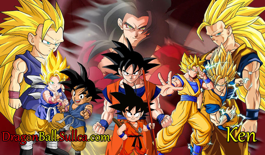 Imagen De Goku Kakaroto Normal Fase 1 Fase Dos Fase 3 Fase: Goku Wallpaper By 797kevin On DeviantArt