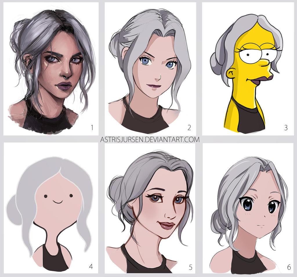 Как рисовать персонажей в стиле мультфильмов