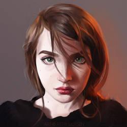 Portrait Study #7 by Astri-Lohne