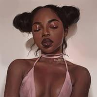 Portrait Study #8 by Astri-Lohne