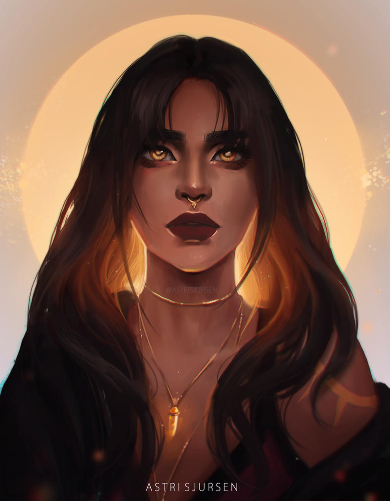 Witch by AstriSjursen