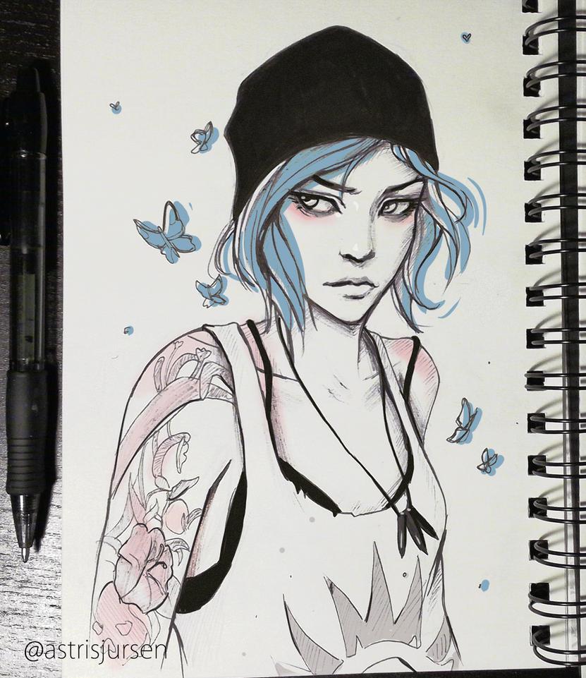 Inktober #14 by AstriSjursen