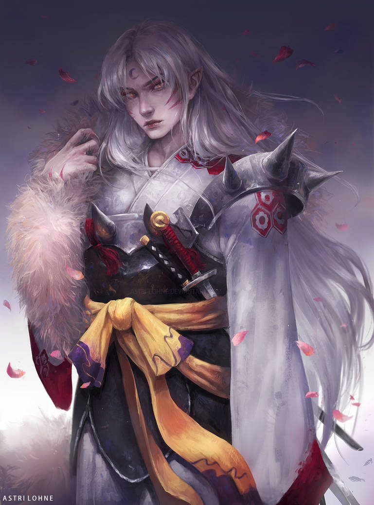 Sesshomaru by Astri-Lohne