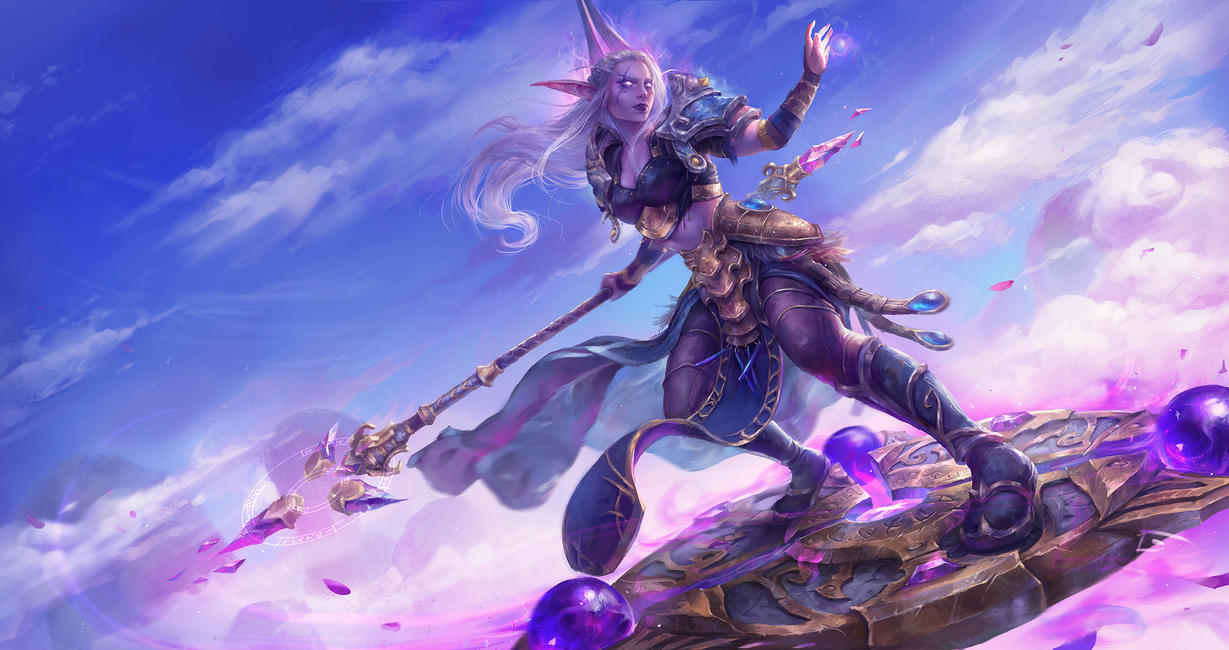 Mage Class Mount By Astri Lohne On Deviantart