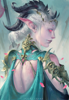 Pale One by Astri-Lohne