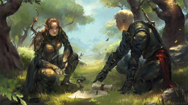 Planning The Assault [C] by Astri-Lohne