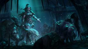 Warcraft 3 Reforged Key Art