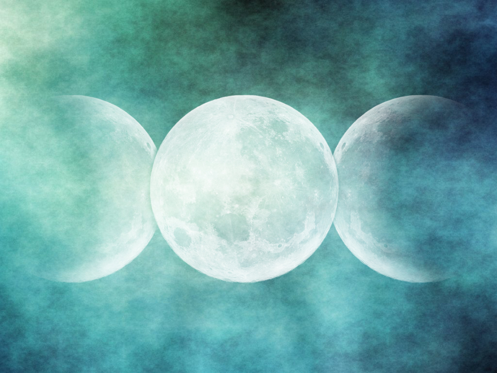 wiccan moon wallpaper images