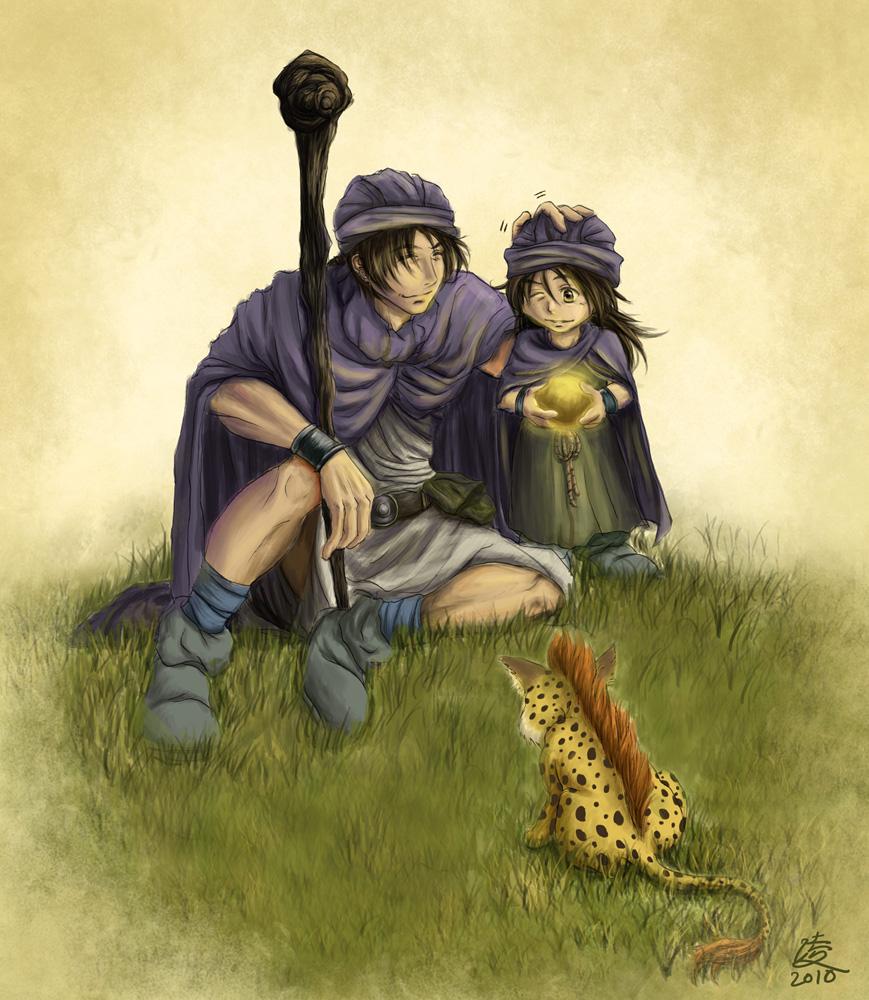 Gold orb dragon quest 5