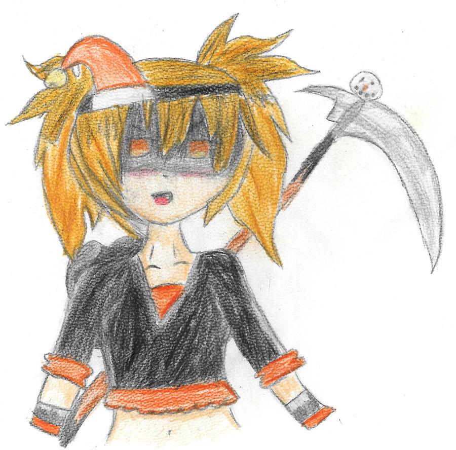 Scythe ripper winter version by Vanity-San