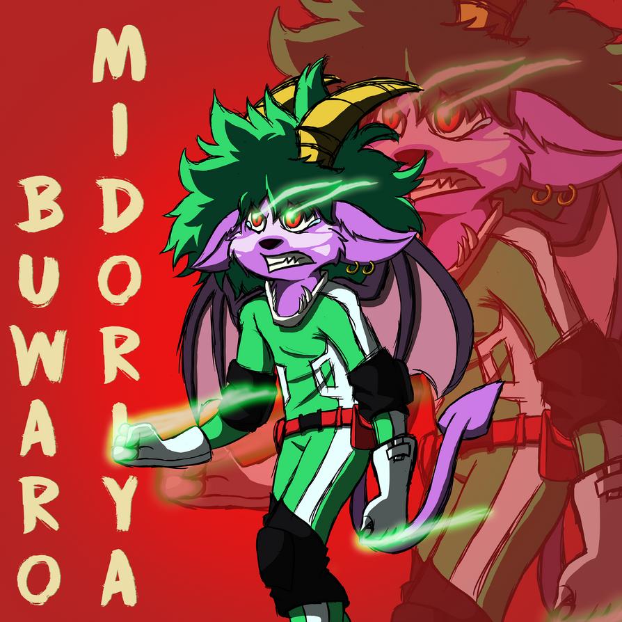 Buwaro Midoriya by DamyFoxyArt