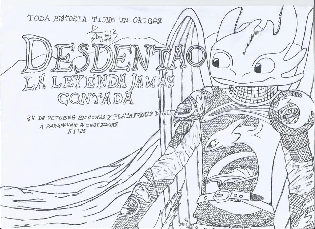 Desdentao y Dracula by DamyFoxyArt