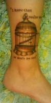 Charles Bukowski Bluebird Tattoo