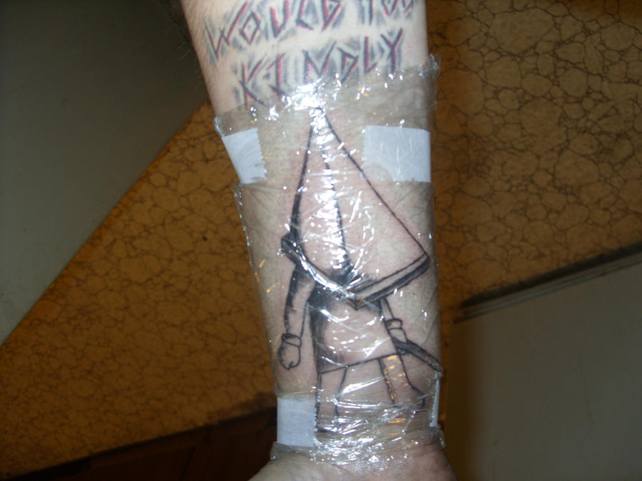 pyramid head tattoo not coloured by dante6499 on deviantart. Black Bedroom Furniture Sets. Home Design Ideas