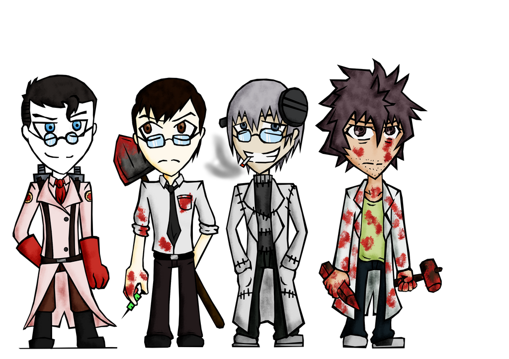 Crazy Doctors I Love - Coloured by Dante6499