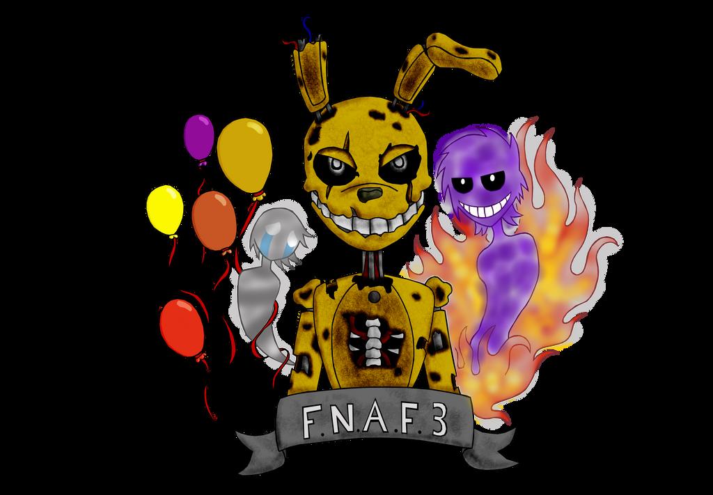 FNAF3 by Dante6499
