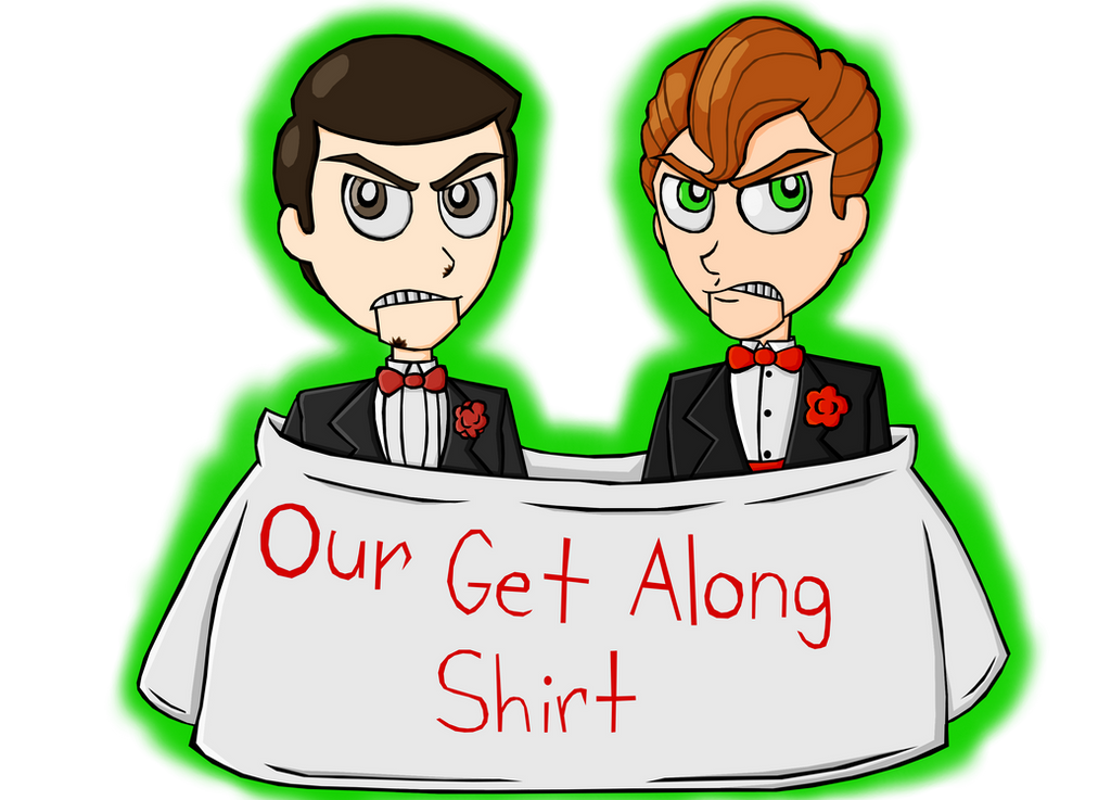 Our Get Along Shirt  by Dante6499