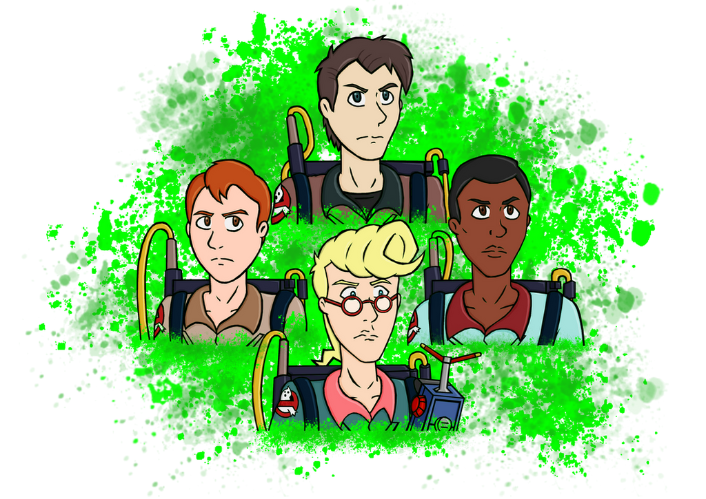 The Real Ghostbusters by Dante6499