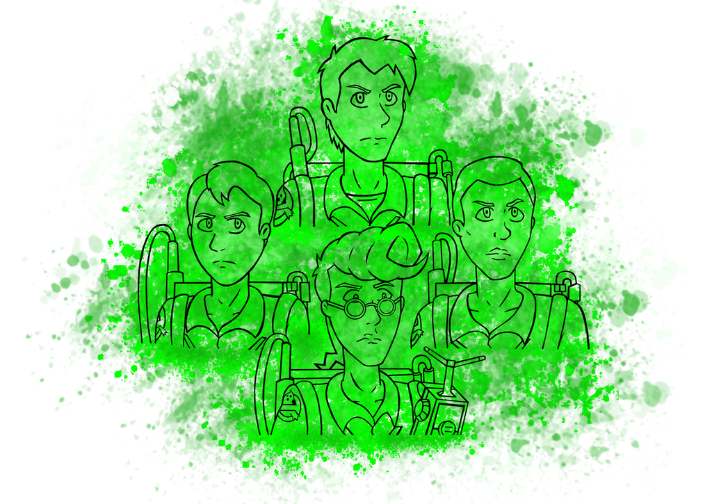 The Real Ghostbusters 2 by Dante6499