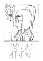 Pallas Athena by TwilightLucia