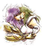 Milo and Shaina by akinominori